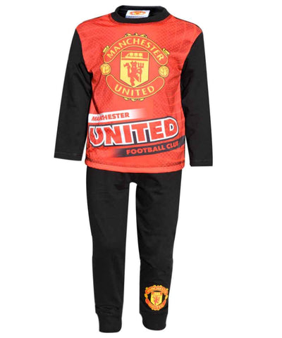 Boys Manchster United Pyjamas - Character Direct