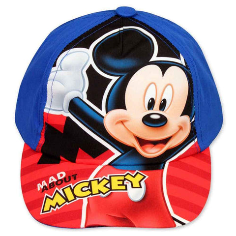Disney Mickey Mouse Cap Baseball Hat Age 2 to 8 Years