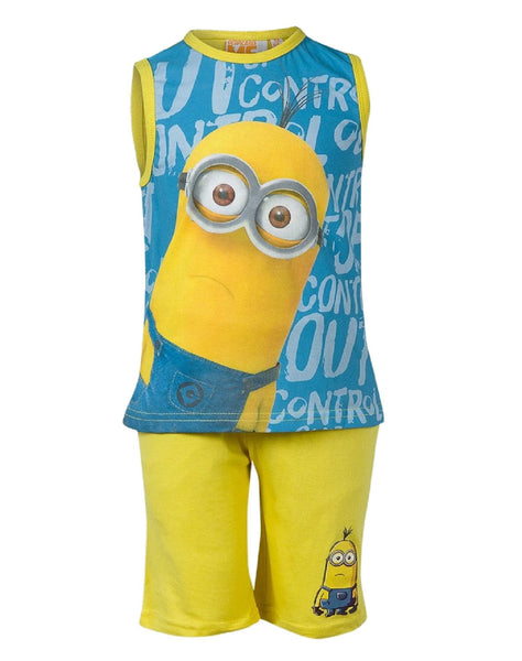 Despicable Me Boys Minions Short Pyjamas 3-10 Years - Character Direct