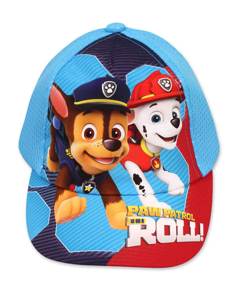 Official Paw Patrol Boys Baseball Hat Age 2 to 8 Years - Character Direct