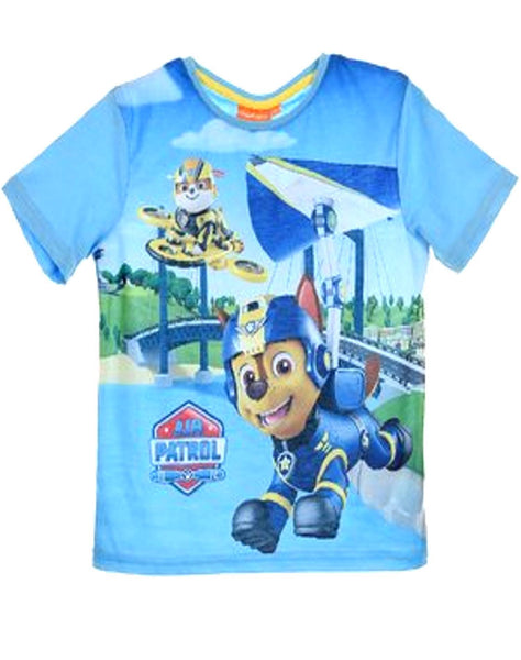 Paw Patrol Boys Tshirt - Character Direct