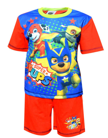 Paw Patrol Boys Short Pyjama Set 18 Months to 5 Years - Character Direct