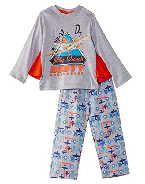 Boys Disney Planes Pyjama With Cape Age 2 to 8 Years - Character Direct