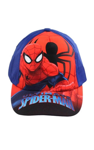 Official Marvel Spiderman Baseball Hat Age 2-8 Years