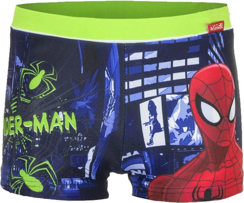 Disney Boys Cars Avengers Spiderman Star Wars Swim Shorts Age 2-11 Years - Character Direct
