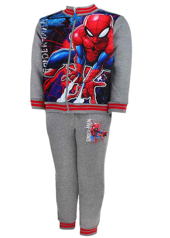 Marvel Spiderman Boys Tracksuit Age 3 to 8 Years