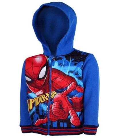 Boys Spiderman Hoodie Age 3 to 8 Years - Character Direct