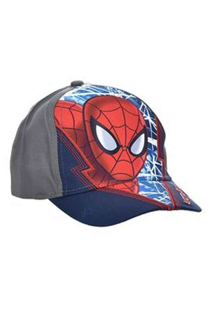 Official Marvel Spiderman Boys Baseball Hat Age 2-8 Years