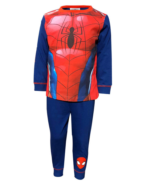 Marvel Boys Spiderman Costume Novelty Pyjama Age 2 to 8 Years - Character Direct
