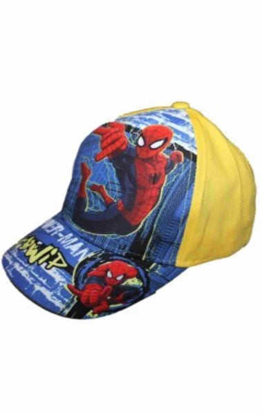 Official Marvel Spiderman Boys Baseball Hat Age 2-8 Years - Character Direct