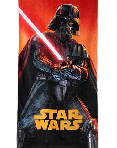 Kids Boys Offical Licensed Star Wars Cotton Towel 140X70 cms - Character Direct