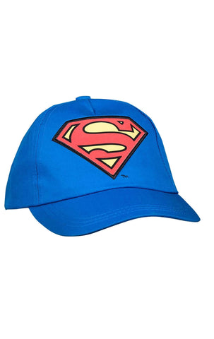 Official Superman Boys Baseball Hat Age 1-12 Years - Character Direct