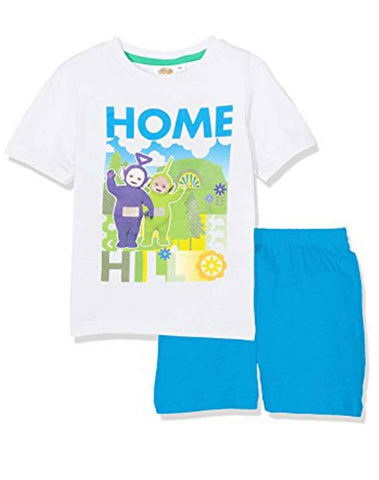 Boys Official Licensed Teletubbies Tinky-Winky Dipsy Laa-Laa Short Pyjamas Age 3 to 6 Years - Character Direct