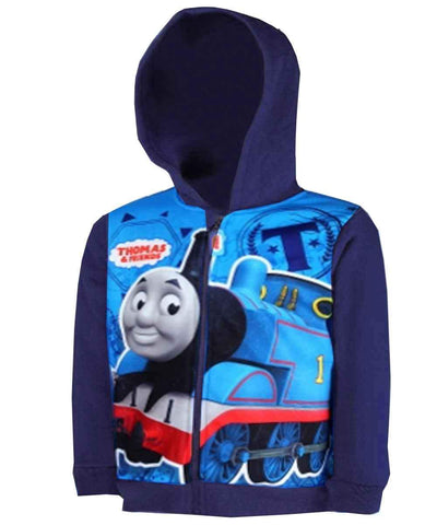 Boys Thomas Hoodie Age 2 to 6 Years - Character Direct