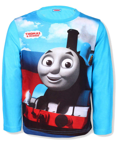 Thomas & Friends Boys Top T-Shirt Age 2 to 8 Years - Character Direct
