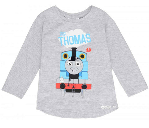 Boys Official Licensed Thomas & Friends Long Sleeve Top Age 2-5 Years - Character Direct