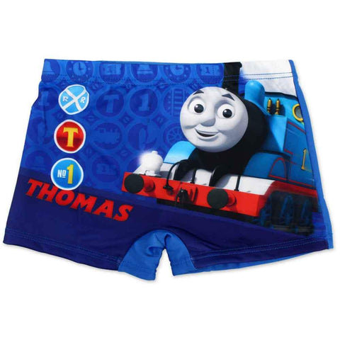 Boys Official Licensed Thomas Print Swim Shorts Age 1 to 6 Years - Character Direct