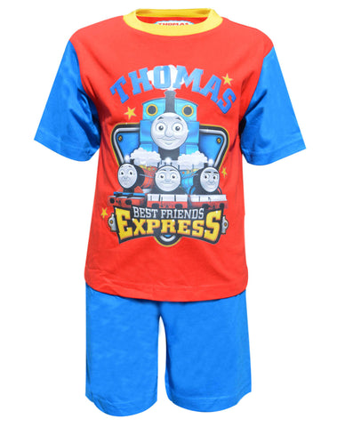 Thomas & Friends Boys Shorty Pyjama 1-4 Years - Character Direct