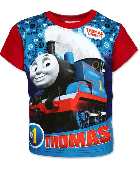 Boys Official Licensed Thomas & Friends Top Age 3 to 8 Years - Character Direct
