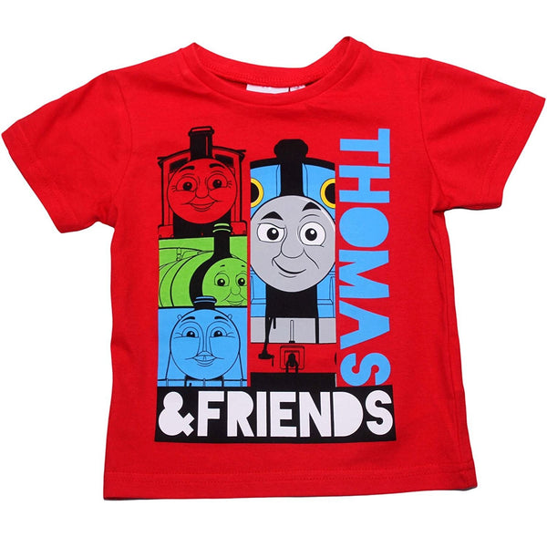 Boys Official Licensed Thomas & Friends Tshirt Top Age 2 to 5 Years - Character Direct