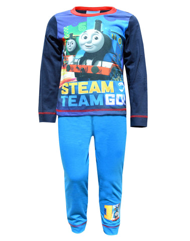 Boys Thomas the Tank Engine Official Long Pyjamas 1 to 5 Years - Character Direct