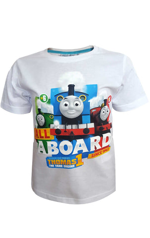 Thomas & Friends Boys Top T-Shirt Age 2 to 5 Years