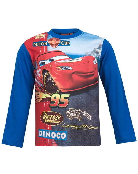 Disney Pixar Cars Boys Short Sleeve T-Shirt Age 3 to 8 Years - Character Direct