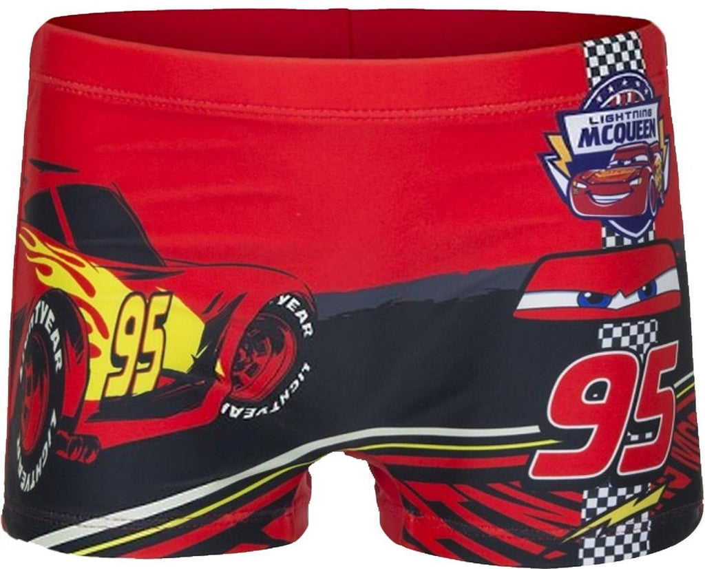 99ba15fc23 Boys Official Licensed Disney Cars Print Swim Shorts Age 2 to 8 Years - Character  Direct