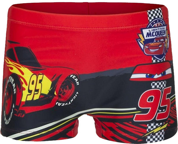 Boys Official Licensed Disney Cars Print Swim Shorts Age 2 to 8 Years - Character Direct