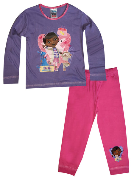 Girls Kids Girls Doc McStuffins Pyjamas Age 1.5 to 5 Years - Character Direct