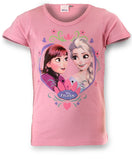 Disney Frozen Princess Girls Top Tshirt - Character Direct