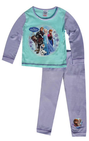 Disney Frozen Elsa Anna Girls Pyjamas Age 1.5 to 5 Years - Character Direct
