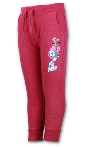 Girls Paw Patrol Tie Detail Trackpant Jogging Pant 3 to 8 Years - CharacterDirect