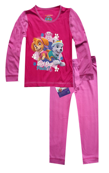 Toddler Girls Paw Patrol Long Length Snuggle Fit Pyjamas 1 to 4 Years - Character Direct
