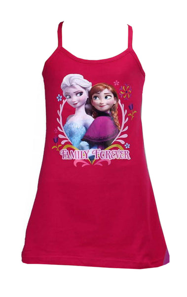 Girls Frozen Strappy Beach Dress Age 3 to 10 Years - CharacterDirect