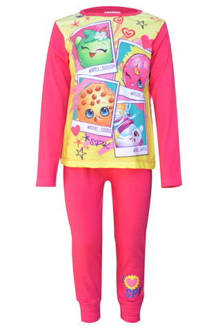 Official Girls Shopkins Pyjamas Age 4 to 10 Years - CharacterDirect