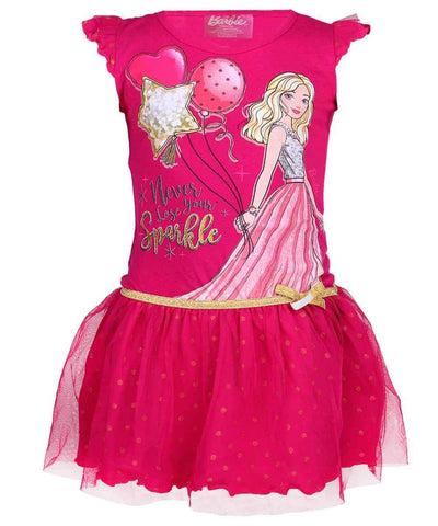 Girls Barbie Costume Dress Age 4 to 10 Years
