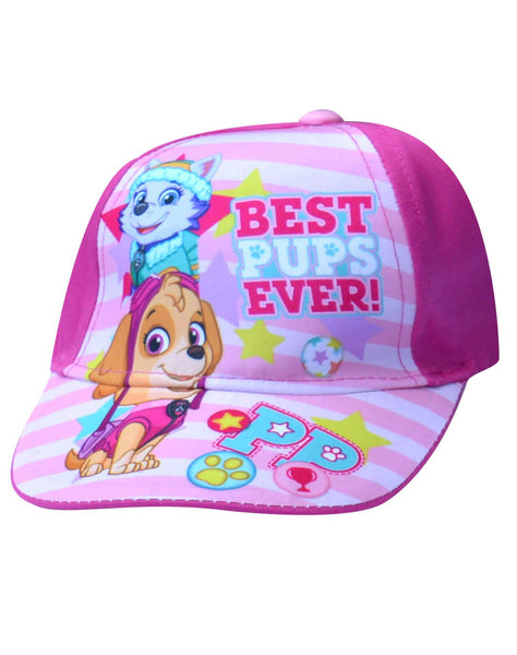 Girls Paw Patrol Baseball Hat Age 2-8 Years - Character Direct