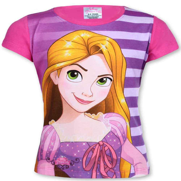 Official Licensed Girls Disney Princess Top Tshirt Age 1 to 6 Years - Character Direct