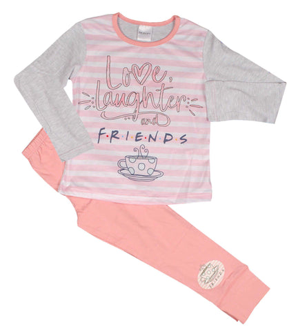 Girls Friends Pyjamas in Pink