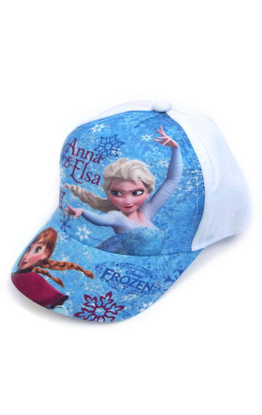Official Girls Disney Frozen Baseball Hat Age 2-8 Years - Character Direct