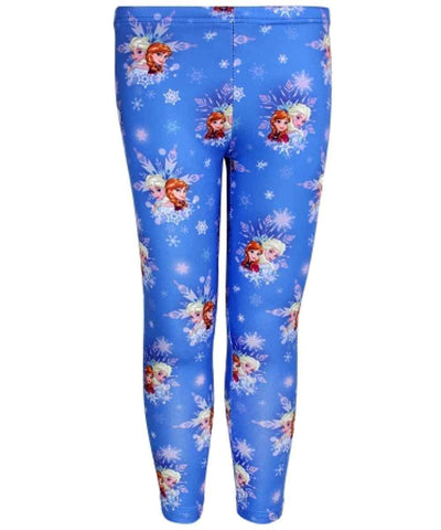 Disney Frozen Girls Leggings Tights Age 4 to 10 Years - Character Direct