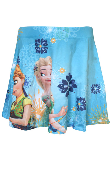 Girls Official Frozen Overall Printed Skirt Age 2 to 8 Years