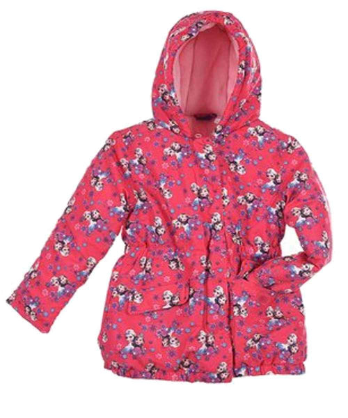 Girls Disney Frozen Puffer Jacket - Character Direct