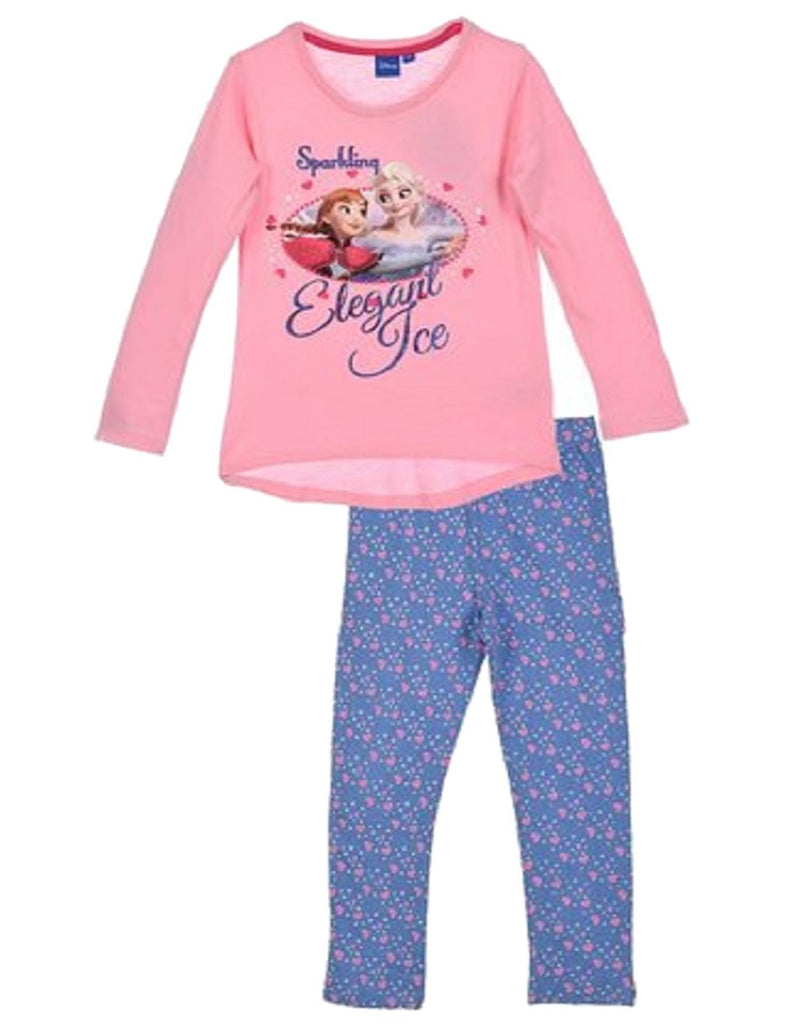 c71ae048e Disney Girls Frozen Princess Elsa Anna Pyjamas 3 to 8 Years - Character  Direct
