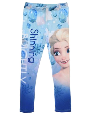 Disney Frozen Girls Leggings Tights 4 to 8 Years - Character Direct