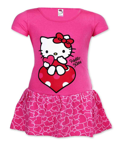 Girls Hello Kitty Costume Dress Age 2 to 6 Years