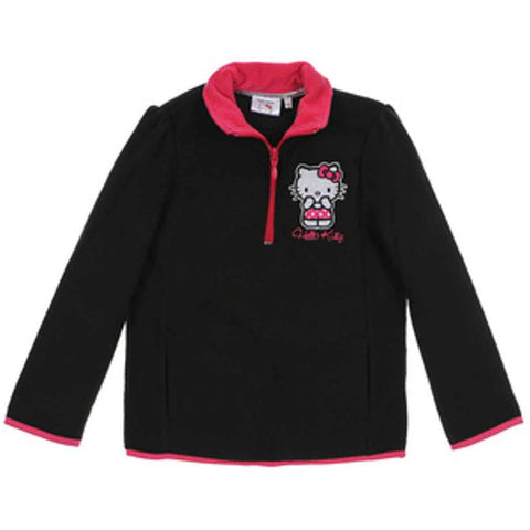 Girls Hello Kitty Fleece Top