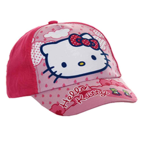 Sanrio Hello Kitty Girls Baseball Hat in Pink Age 1-7 Years