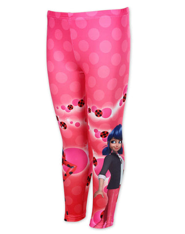 Girls Official Miraculous Ladybug Girls Legging Tights Age 3 to 8 Years